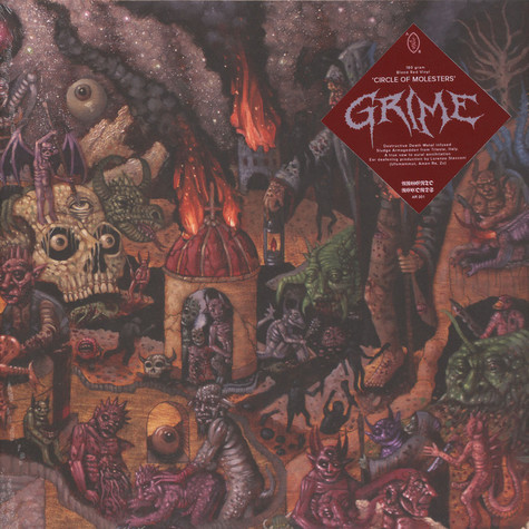 Grime - Circle Of Molesters Red Vinyl Edition