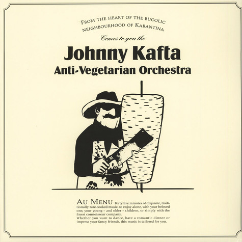 Johnny Kafta Anti-Vegetarian Orchestra - Johnny Kafta Anti-Vegetarian Orchestra