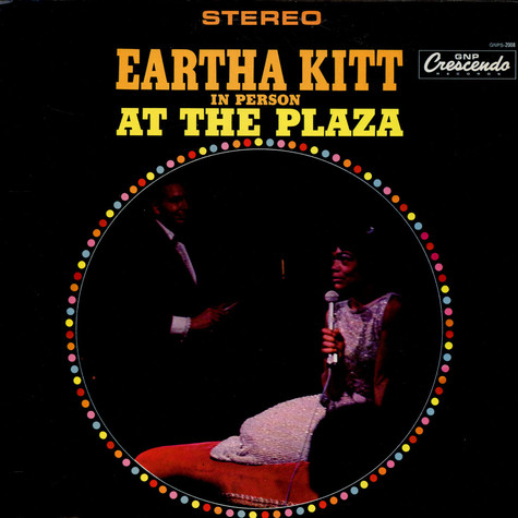 Eartha Kitt - In Person At The Plaza