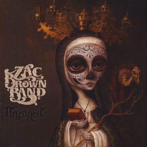 Zac Brown Band Uncaged Vinyl Lp 2012 Eu Reissue
