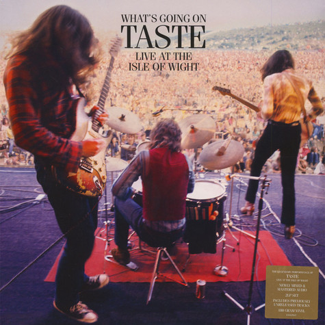 Taste - What's Going On Taste Live At Isle Of Wight 1970
