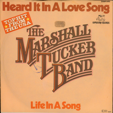 Marshall Tucker Band, The - Heard It In A Love Song