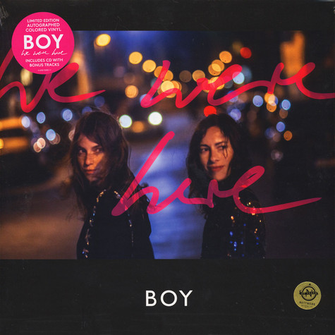 Boy - We Were Here Limited Edition Colored Vinyl