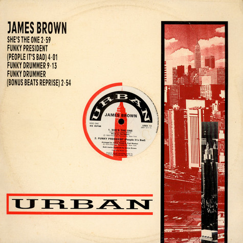 James Brown - She's The One
