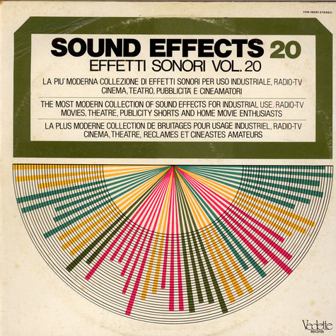 Unknown Artist - Sounds Effects Vol. 20