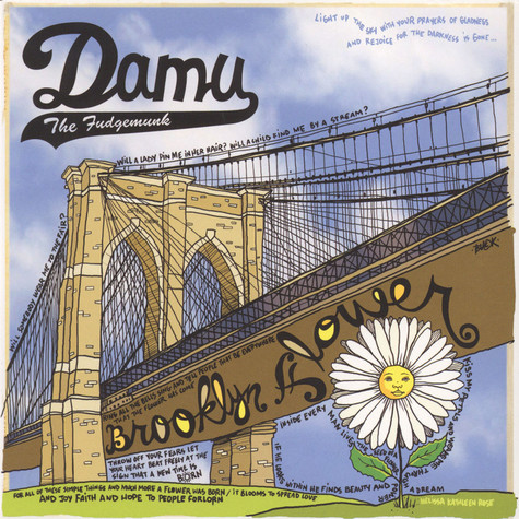 Damu The Fudgemunk - Brooklyn Flower White Vinyl Edition