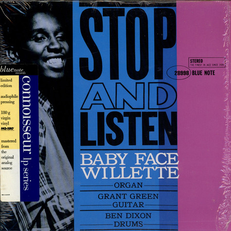 'Baby Face' Willette - Stop And Listen