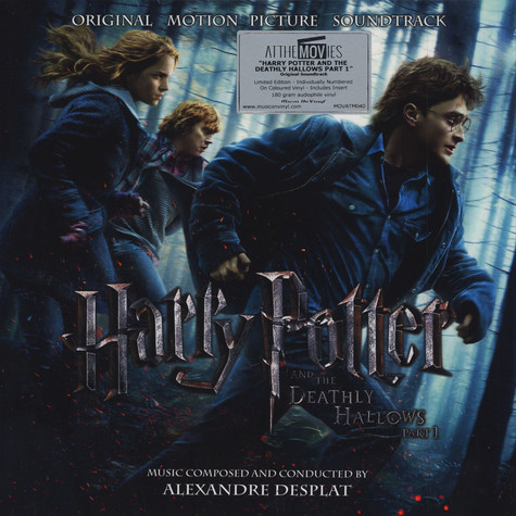Alexandre Desplat - OST Harry Potter And The Deathly Hallows Part 1 Colored Vinyl Edition