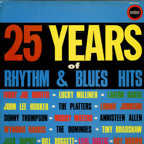 V.A. - 25 Years Of Rhythm & Blues Hits
