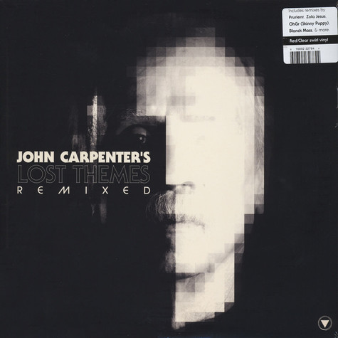 John Carpenter - Lost Themes Remixed Colored Vinyl Edition