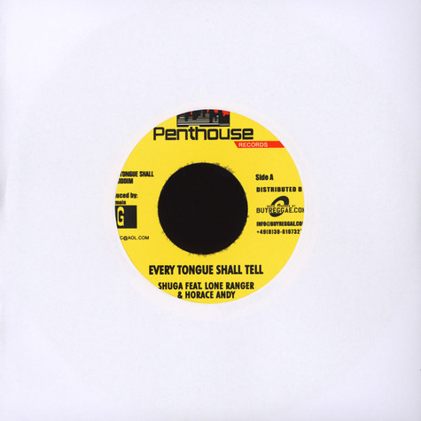 Shuga, Horace Andy, Lone Reanger - Every Tongue Shall Tell