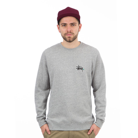 Stüssy - Basic Logo Crewneck Sweater