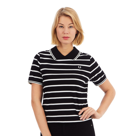 Fred Perry - Flat Knit Collar Stripe T-Shirt