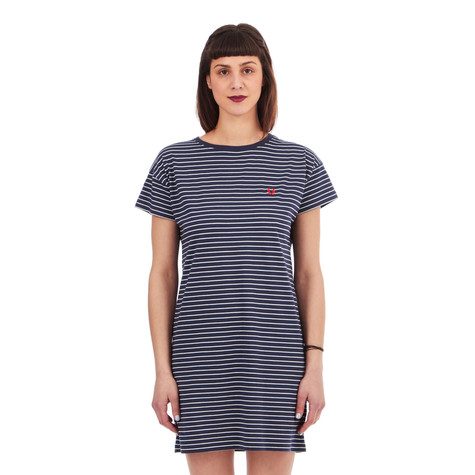 Fred Perry - Drop Shoulder Stripe Dress