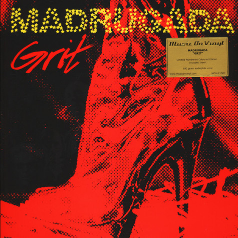 Madrugada - Grit Yellow Vinyl Edition