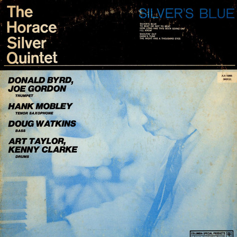 The Horace Silver Quintet - Silver's Blue