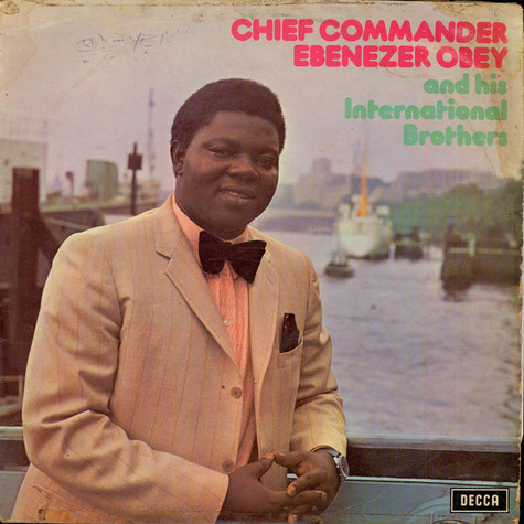 Chief Commander Ebenezer Obey & His Inter-Reformers Band - Ebenezer Obey In London Vol. 3