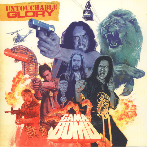 Gama Bomb - Untouchable Glory Red Vinyl Edition
