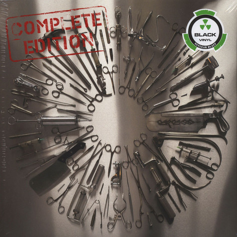 Carcass - Surgical Steel Complete Black Vinyl Edition