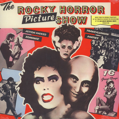 V.A. - OST Rocky Horror Picture Show White Vinyl Edition