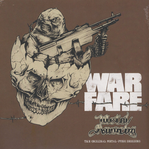 Warfare - Metal Anarchy: Original Metal Punk Sess Colored Vinyl Edition