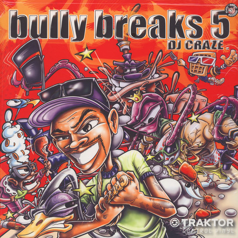 DJ Craze - Bully Breaks 5 Ultra Clear Traktor Vinyl
