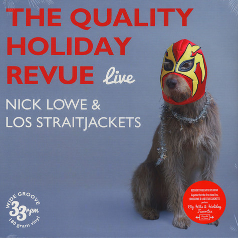 Nick Lowe & Los Straitjackets - The Quality Holiday Revue Live