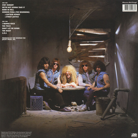 Twisted Sister - Stay Hungry Black Vinyl Edition