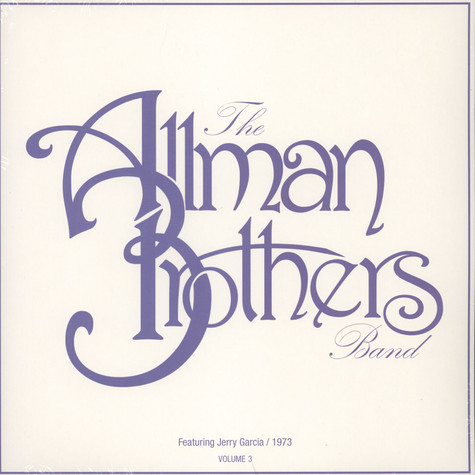 Allman Brothers, The - Live At Cow Palace Volume 3