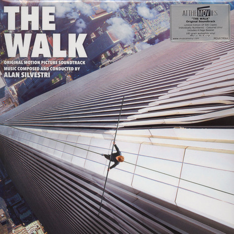 Alan Silvestri - OST The Walk Ligh Blue Vinyl Edition