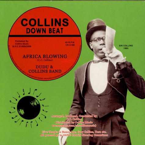 Uniques & Collins / Dudu & Collins - Sitting In The Park / Africa Blowing
