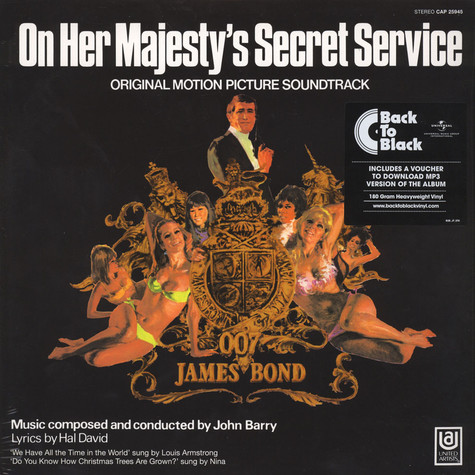 John Barry - OST James Bond: On Her Majesty's Secret Service