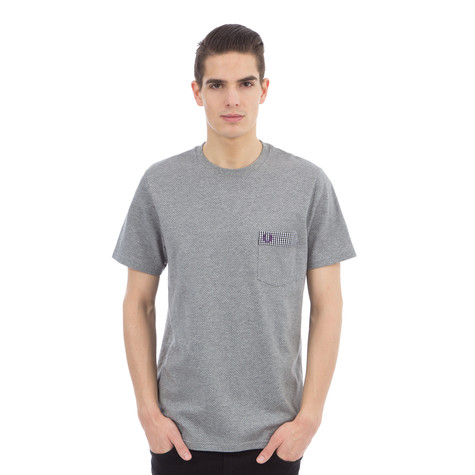 Fred Perry - Gingham Trim Polkadot T-Shirt