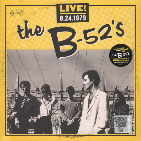 B-52's, The - Live! 8-24-1979