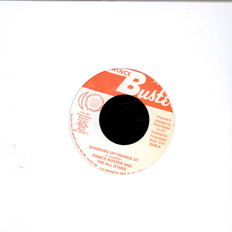 Prince Buster's All Stars - Shaking Up Orange St. / King, Duke, Sir