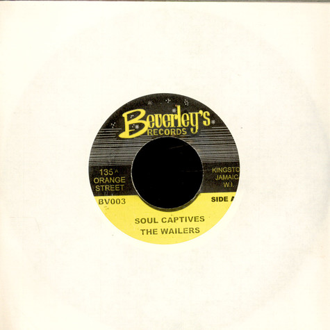 Wailers, The - Soul Captives / Version