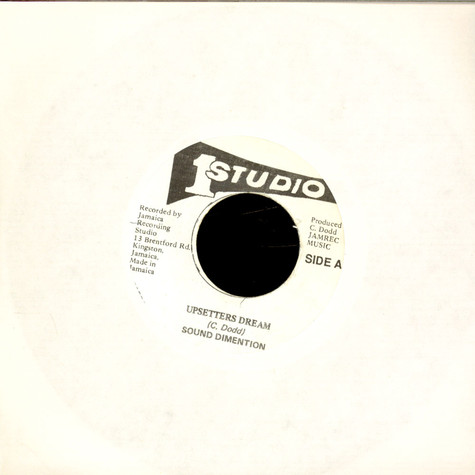 Sound Dimension / Theophilus Beckford - Upsetters Dream / Thats Me