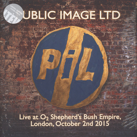Public Image Ltd - Live At O2 Shepherds Bush Empire 2015