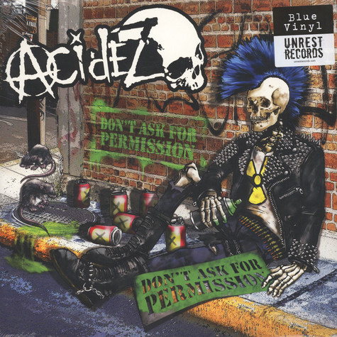 Acidez - Don't Ask For Permission (Random Black, Yellow And Blue Vinyl)