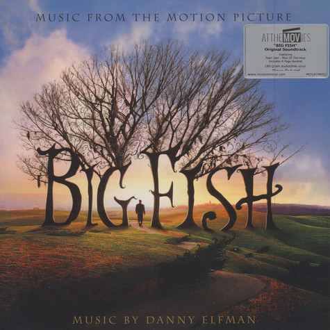 Danny Elfman - OST Big Fish Black Vinyl Edition