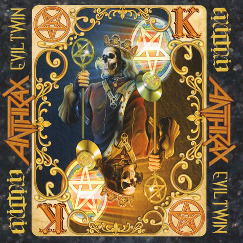 Anthrax - Evil Twin Black Vinyl Edition