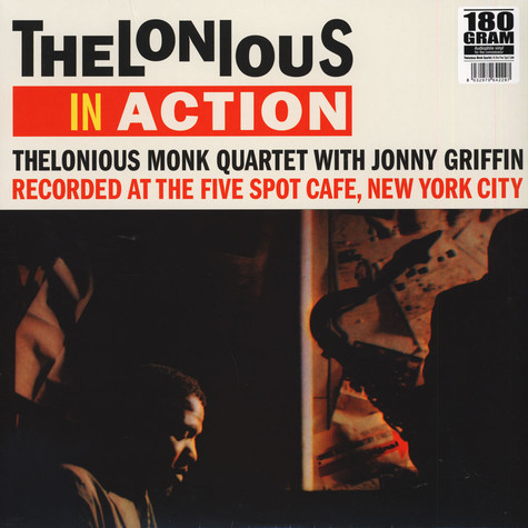 Thelonious Monk With Johnny Griffin - Thelonious In Action