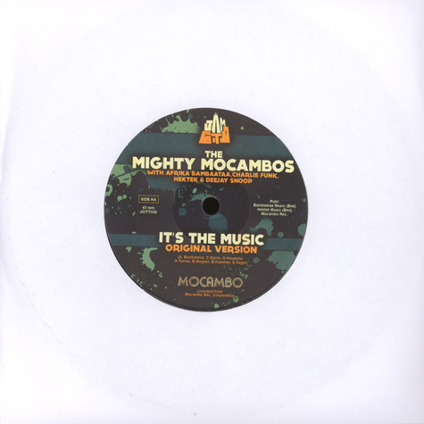 Mighty Mocambos, The - It's The Music A.skillz & Stickybuds Remix