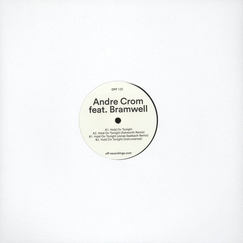 Andre Crom - Hold On Tonight Feat. Joel Wells