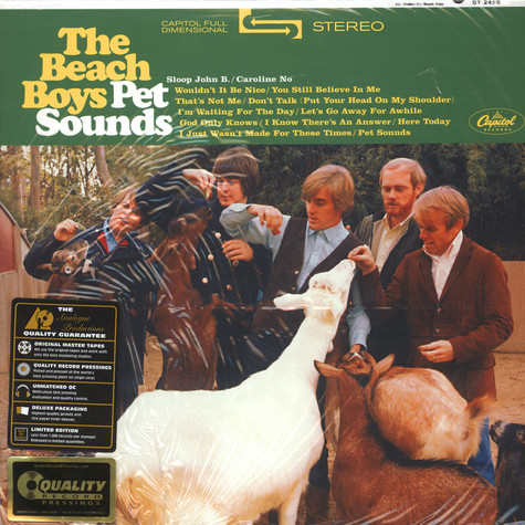 Beach Boys, The - Pet Sounds 200g Vinyl Stereo Edition