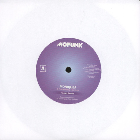Moniquea - A Certain Way Remixes