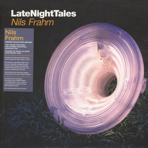 Nils Frahm - Late Night Tales White Vinyl Edition