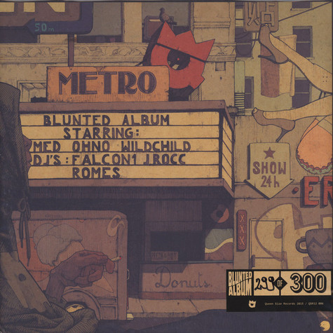Metro - Blunted Album (Damaged Sleeve)