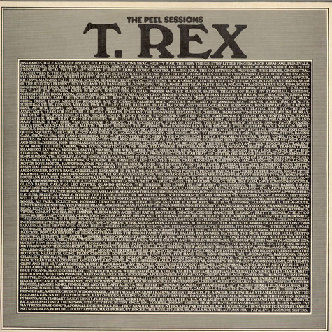 T. Rex - The Peel Sessions