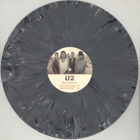 U2 - With Or Without You Grey Vinyl Edition